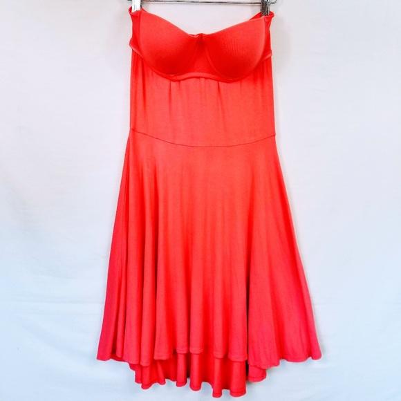dc7ed99a98d8 Victoria's Secret Dresses   Victorias Secret Strapless Flowy ...